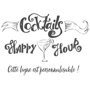 cocktails happy hour