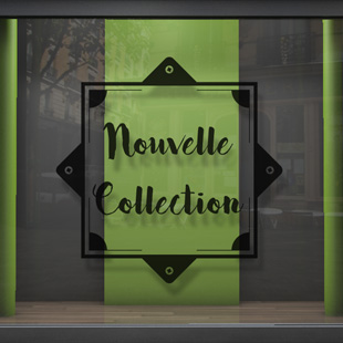Nouvelle collection double carré