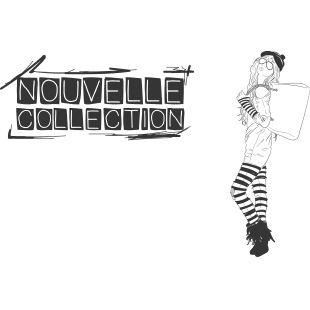 Nouvelle collection esquisse femme