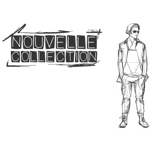 Nouvelle collection esquisse homme