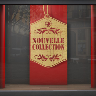 Nouvelle collection étiquette vintage