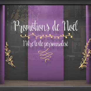sticker Promotions de noël