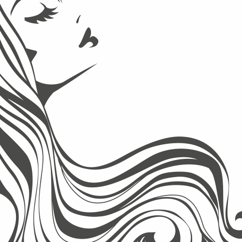 Sticker vitrine salon de coiffure coiffeur for Devanture salon de coiffure