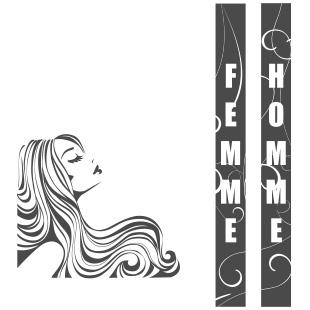 Un salon de coiffure avec best free home design idea for Un salon de coiffure