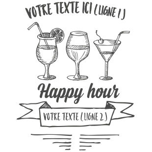 happy hour 3 verres
