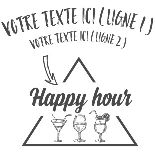 Happy hour triangulaire